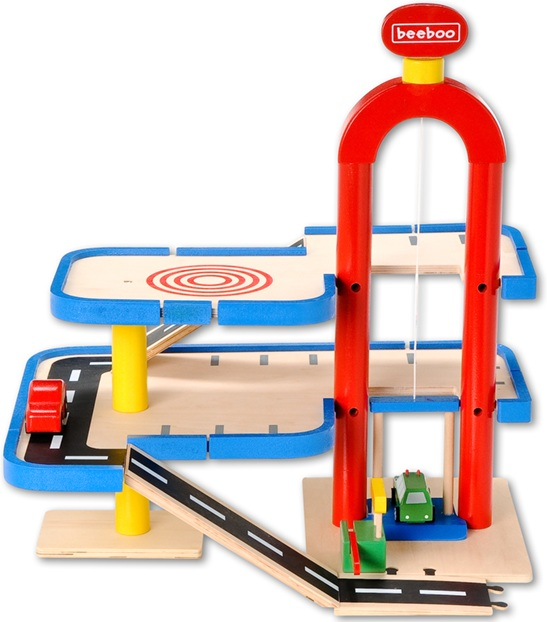 beeboo garage en bois garage jouet. Black Bedroom Furniture Sets. Home Design Ideas