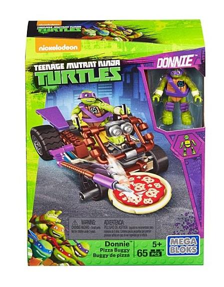 Mega bloks bolide pizza des tortues ninja donatello dmx37 - Tortues ninja pizza ...