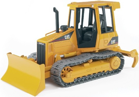 bulldozer caterpillar jouet bruder engin de chantier pour. Black Bedroom Furniture Sets. Home Design Ideas
