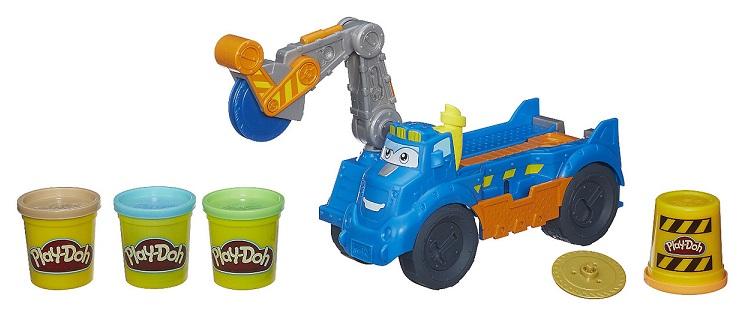 play doh p 226 te 224 modeler v 233 hicule de chantier buzz tonka