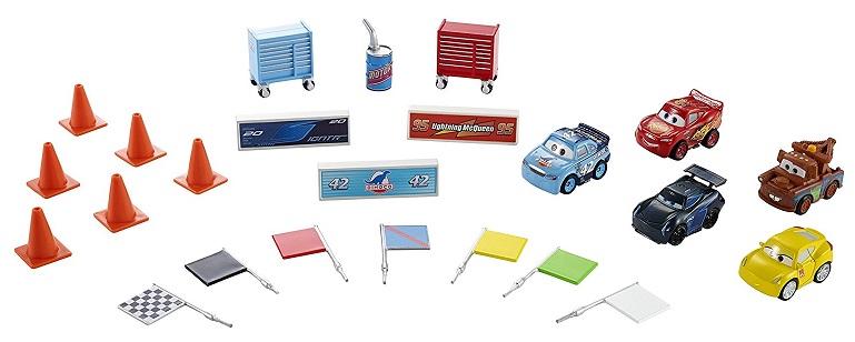 Calendrier De L Avent Voiture.Mattel Calendrier De L Avent Voitures Accessoires Cars 3