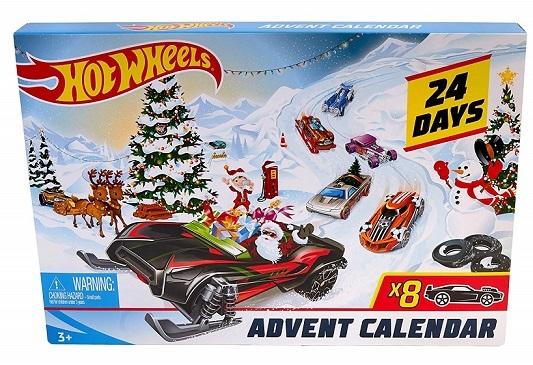 Calendrier De L Avent Voiture.Calendrier Avent Hot Wheels 2019 Vehicules Miniatures