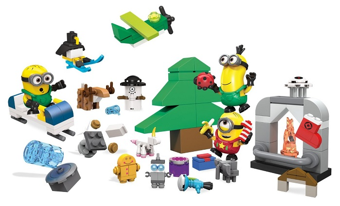 calendrier de lavent minions jeu megabloks no l 2015. Black Bedroom Furniture Sets. Home Design Ideas