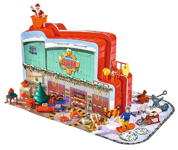 Calendrier de lavent sam le pompier univers jeux jouets - Sam le pompier noel ...