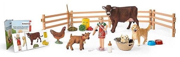 Calendrier de lavent animaux ferme schleich no l 2016 - Calendrier de l avent pour chien ...