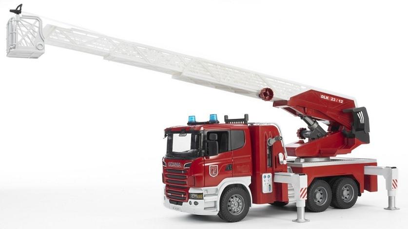 camion pompier avec chelle et pompe eau fonctionnelle bruder. Black Bedroom Furniture Sets. Home Design Ideas