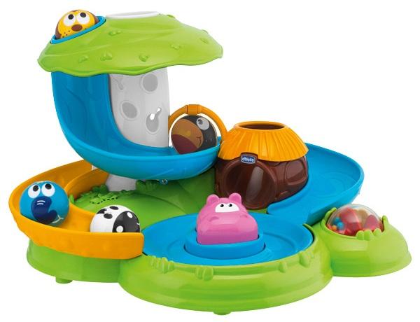 centre d activit s veil b b fantasy island chicco jouet premier ge avec balles. Black Bedroom Furniture Sets. Home Design Ideas