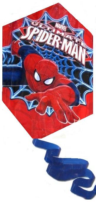 cerf volant rouge monofil spider man marvel. Black Bedroom Furniture Sets. Home Design Ideas