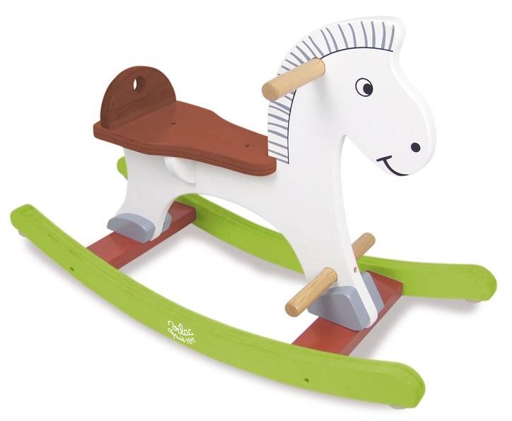 Vilac cheval bascule perceval caverne des jouets for Pelleteuse jouet exterieur