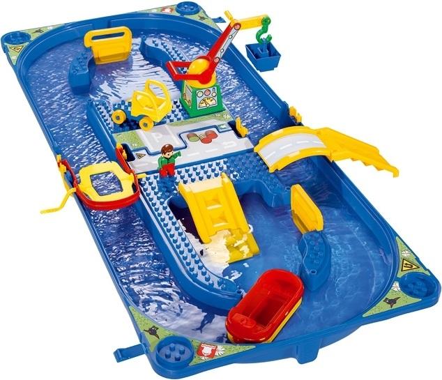 circuit d eau enfant avec port coffret circuit aquatique jouet syst me de canaux waterplay big. Black Bedroom Furniture Sets. Home Design Ideas