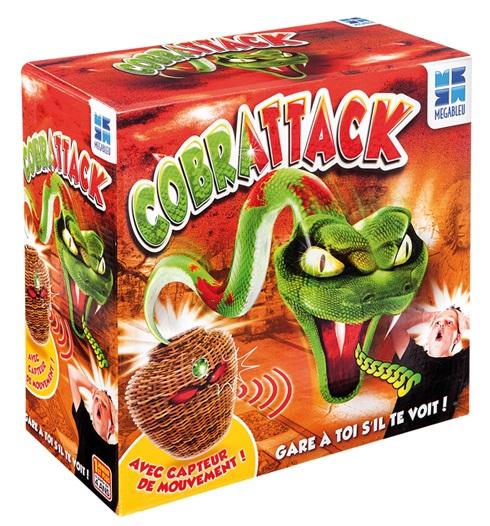 Cobrattack ! jeu de société 1 joueur et plus  A partir de 5 ans. Mégableu