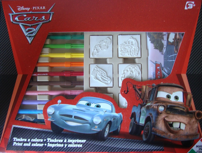 Coloriage Voiture Cars 2 Imprimer.Tampons A Imprimer Cars 2 7 Timbres A Imprimer Disney Cars