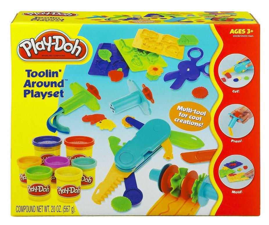 coffret astucieux bricolage play doh caverne des jouets. Black Bedroom Furniture Sets. Home Design Ideas