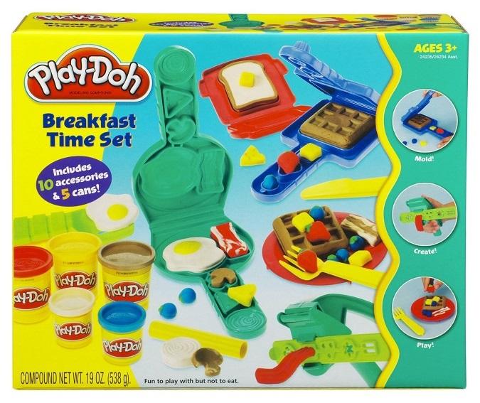Coffret petit d jeuner play doh caverne des jouets - Pate a modeler cuisine ...