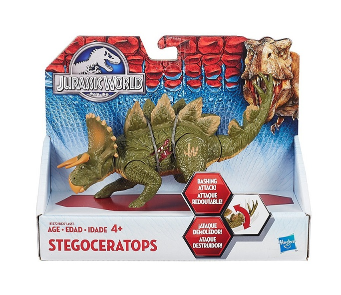 Hasbro b1270 jurassic world dinosaure stegoceratops 16cm - Dinosaure jurassic world ...