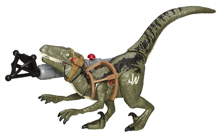 Hasbro b4020 jurassic world dinosaure velociraptor blue 19cm - Dinosaure jurassic world ...
