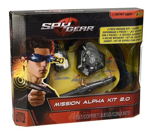 coffret mission alpha kit espionnage 2 0 jouet spy gear. Black Bedroom Furniture Sets. Home Design Ideas