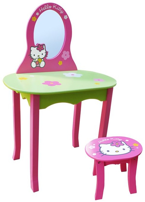 coiffeuse hello kitty pas cher achat vente coiffeuse et. Black Bedroom Furniture Sets. Home Design Ideas