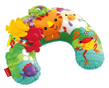 Coussin de la jungle r veils ducatifs b b fisher price - Tapis animaux de la jungle ...