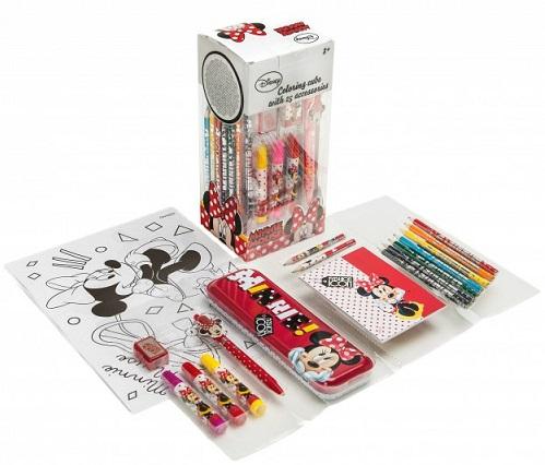 Cube Coloriage 25 Pieces Minnie Disney Cavernedesjouets