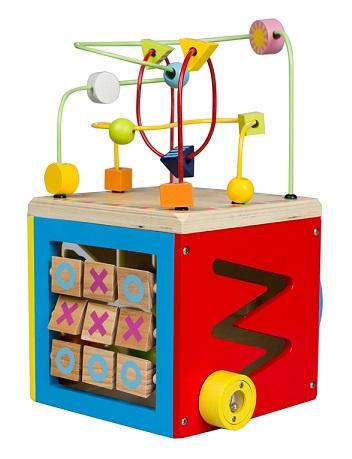 boulier cube d activit s en bois 5 en 1 b b achat vente. Black Bedroom Furniture Sets. Home Design Ideas