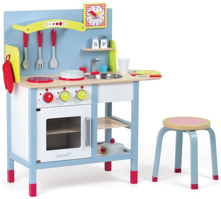 Janod Cuisine picnik Duo en bois J06538 Acheter Jouet cuisinière