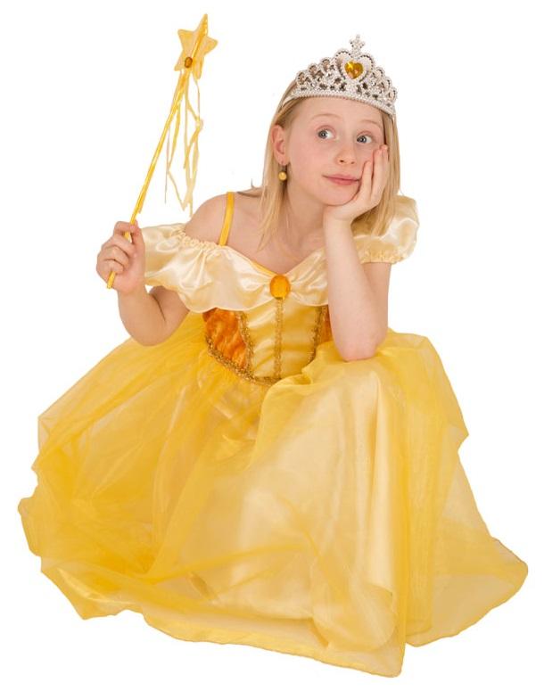 costume princesse robe jaune 6 ans cavernedesjouets. Black Bedroom Furniture Sets. Home Design Ideas