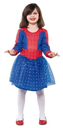d guisement spider girl enfant 7 9 ans costume g n rique. Black Bedroom Furniture Sets. Home Design Ideas