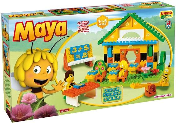 ecole de maya l abeille briques androni big. Black Bedroom Furniture Sets. Home Design Ideas