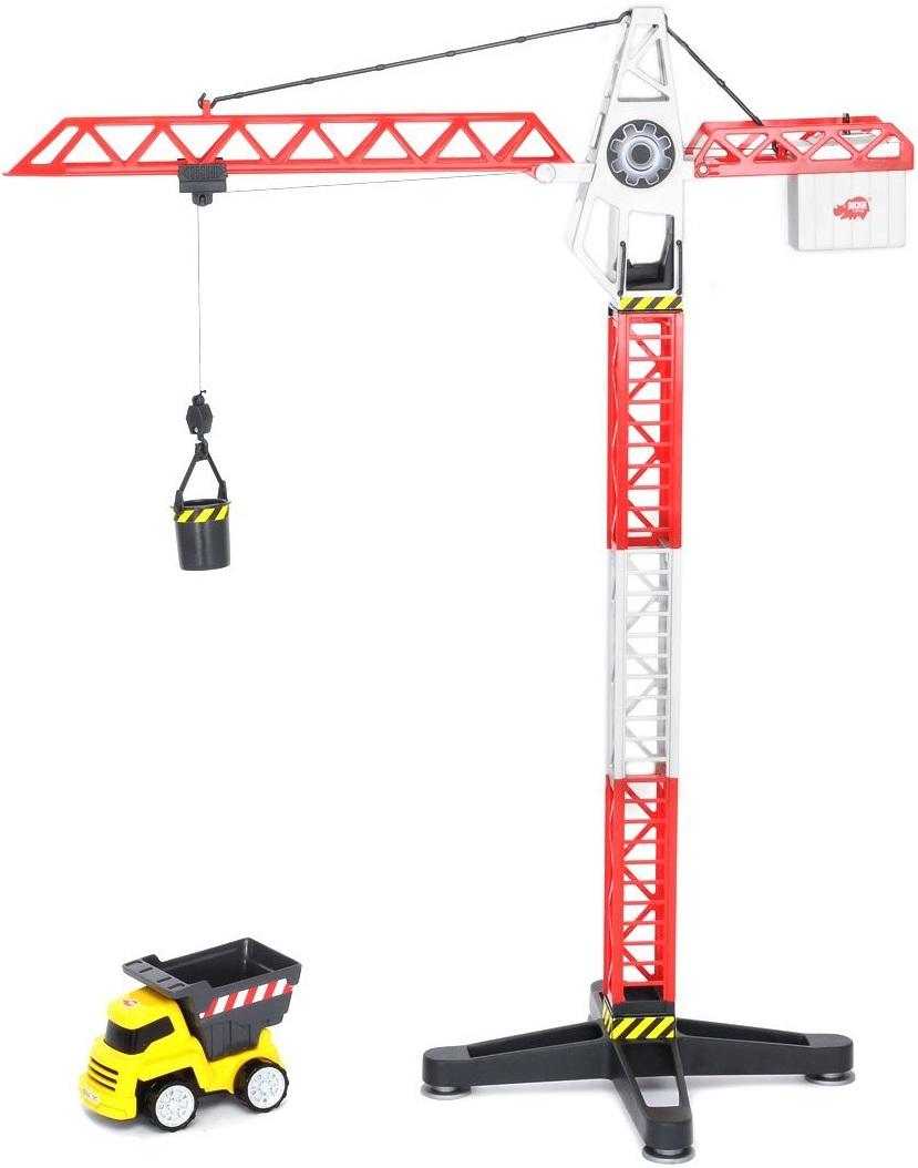 Grue de chantier camion benne jouet enfant dickie buiding team - Jeux de grue de chantier ...