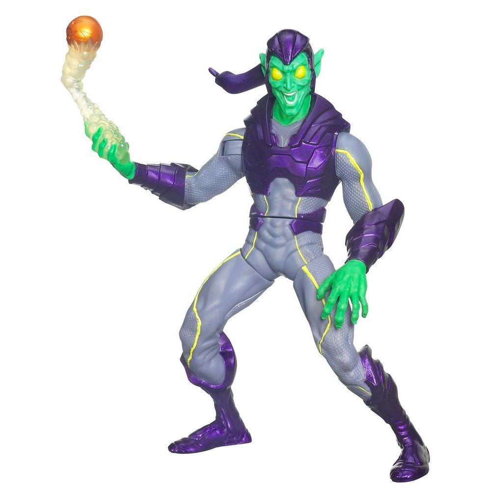 Figurine spiderman vert - Bouffon vert coloriage ...
