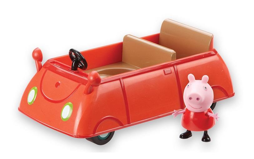 coffret figurine peppa et voiture rouge au meilleur prix. Black Bedroom Furniture Sets. Home Design Ideas