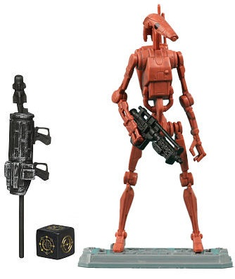 Hasbro 37751 figurine star wars battle droid 10cm - Personnage de starwars ...