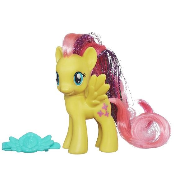 Little Hasbro Fluttershy My Pover Jaune Mon Petit Poney Rainbow JuFTlKc13