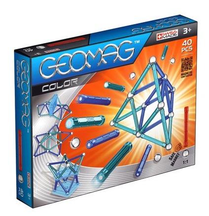 jeu assemblage construction geomag kit de construction magn tique monde magn tique geomag color 25. Black Bedroom Furniture Sets. Home Design Ideas