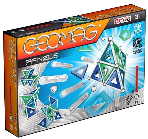 barrettes et billes geomag 68 pi ces jeu de construction aimant achat vente jouet geomag panels. Black Bedroom Furniture Sets. Home Design Ideas