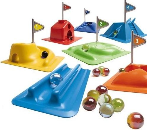 parcours de billes jouet mini golf billes golfy. Black Bedroom Furniture Sets. Home Design Ideas