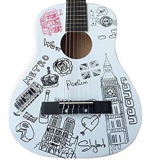 guitare 85 cm