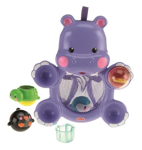 jouet fisher price hippo rigolo de bain 4 activit s. Black Bedroom Furniture Sets. Home Design Ideas