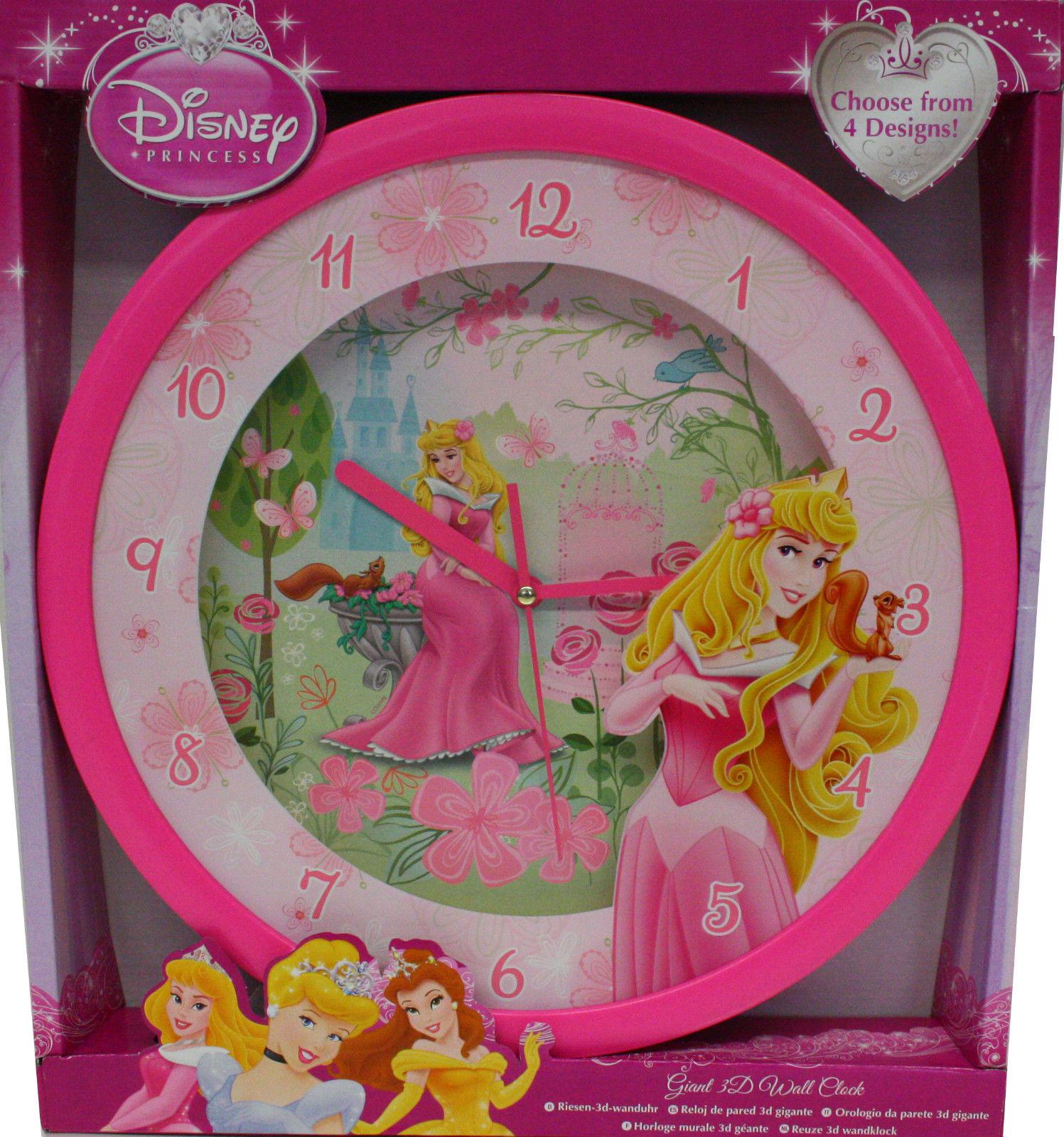 Horloge Murale La Belle Au Bois Dormant 3d Geante Montre Disney