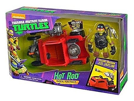 Coffret de jeu tortue ninja v hicule hot rod figurine - Michaelangelo tortue ninja ...