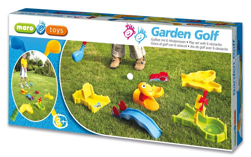 jouet set mini golf enfant clubs balles obstacles. Black Bedroom Furniture Sets. Home Design Ideas