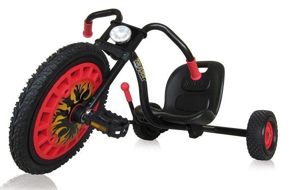 kart p dales chopper noir 3 roues enfant 4 8 ans hauck. Black Bedroom Furniture Sets. Home Design Ideas