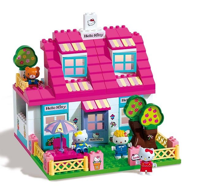 Grande maison villa hello kitty construire 129 pi ces for Jeu de construction de maison virtuel