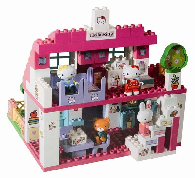 Grande maison villa hello kitty construire 129 pi ces - Jeu de construction de maison virtuel ...