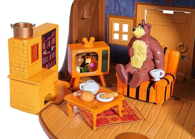 la maison de lours michka univers miniature figurines. Black Bedroom Furniture Sets. Home Design Ideas