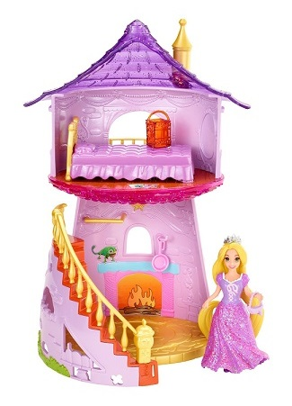 Coffret little kingdom disney tour de raiponce magiclip - Princesse disney raiponce ...