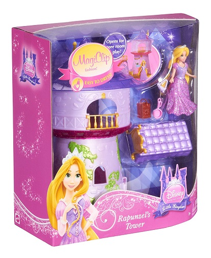 coffret little kingdom disney tour de raiponce magiclip. Black Bedroom Furniture Sets. Home Design Ideas