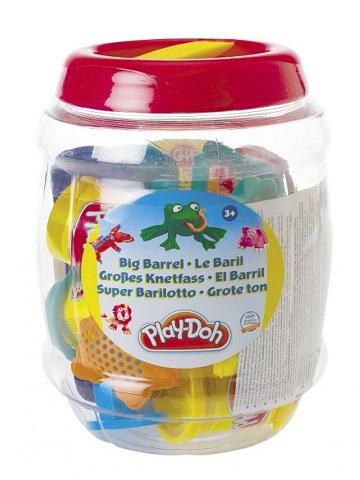 grand baril transparent play doh kit modelage enfant