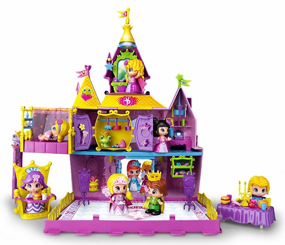 Pinypon palace le ch teau des mini poup es princesses for Image chateau princesse